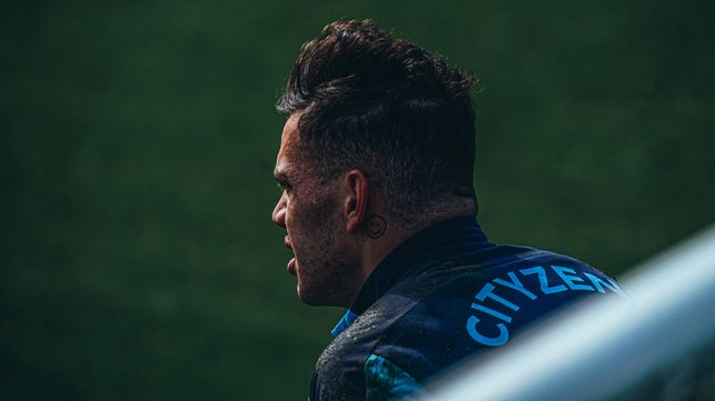 SAFE HANDS: Ederson going through the motions