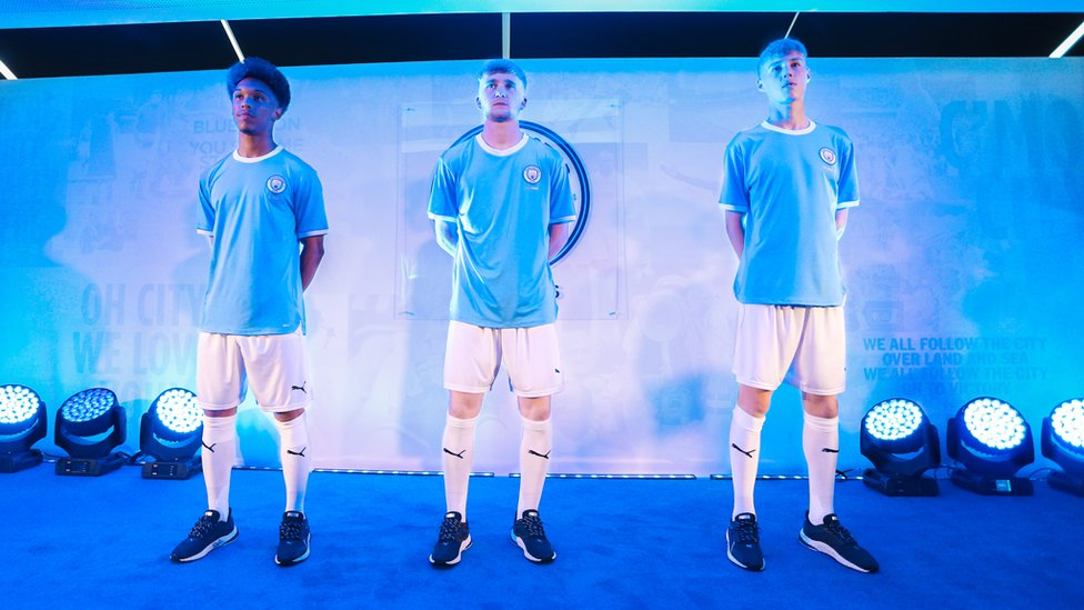 125 YEARS : Our anniversary kit was unveiled at a special fan event held at the City Football Academy