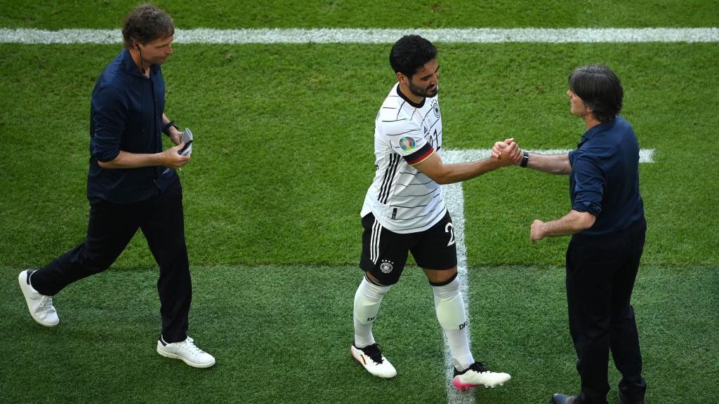 Gundogan claims Euro 2020 bragging rights on Dias and Bernardo