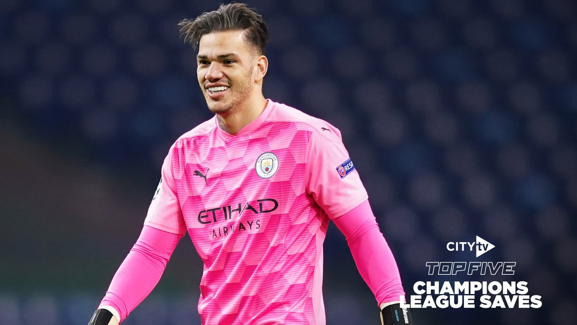 City's top five Champions League saves