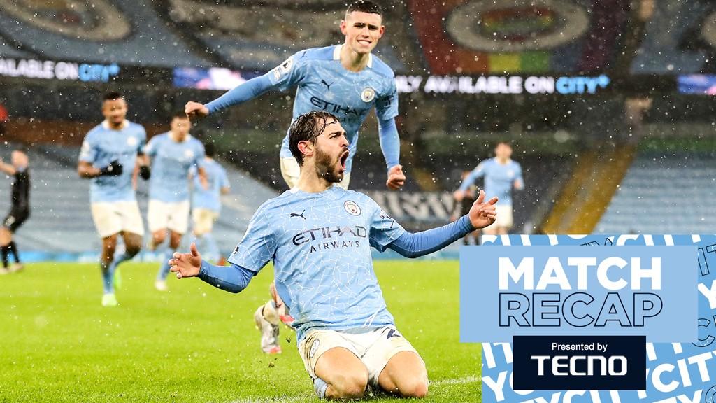 Match Recap: City 2-0 Aston Villa