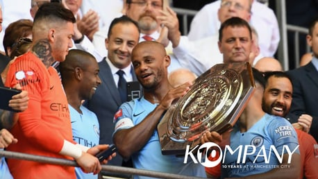 KOMPANY 10: Pep and the players explain why Vincent is such an important figure at City