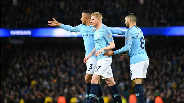 OFF THE BENCH, OFF THE MARK : De Bruyne makes it three...
