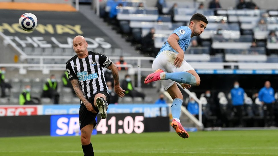 WING WIZARD: Ferran Torres puts City ahead with an audacious flick