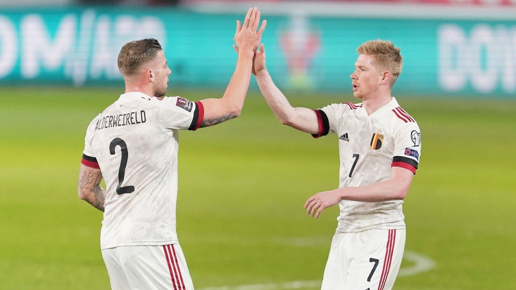De Bruyne and Bernardo assists earn draws for Belgium and Portugal