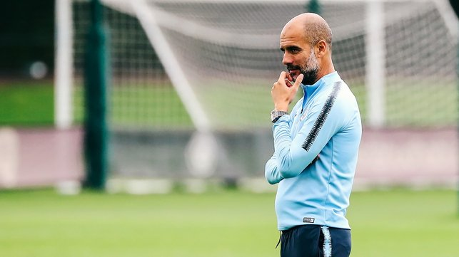 Conductor : Guardiola planning ahead of Huddersfield