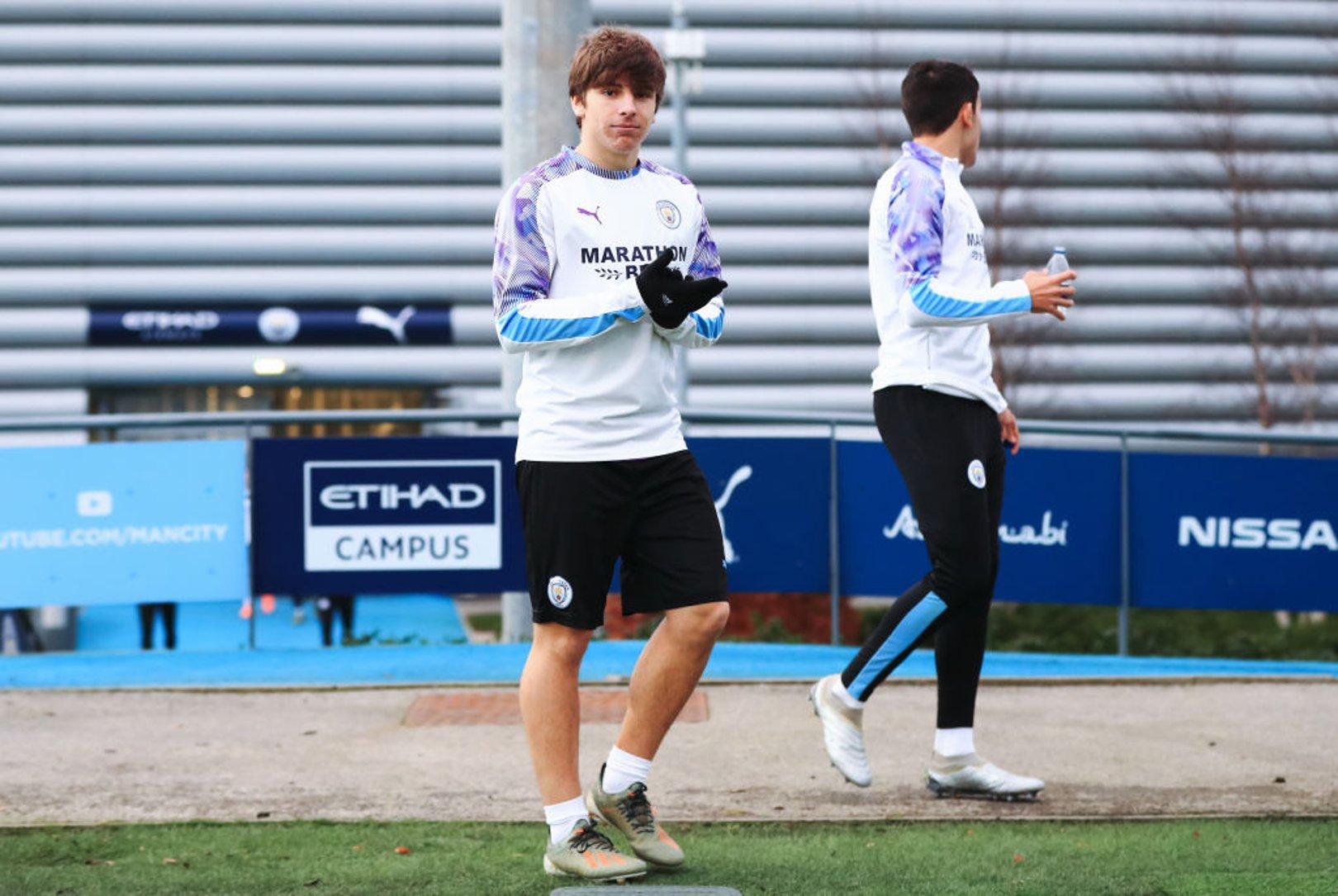 Adrian Bernabe training 15 January.