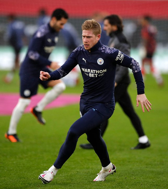 WORLD BEATER : De Bruyne looks fully focused, fresh after being named in the FIFPro Men's World XI.