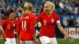 SUPER STEPH: Steph Houghton captained the side to glory