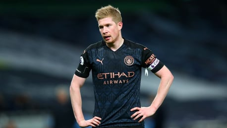 'We need to be sharper' says De Bruyne