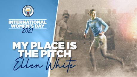 My place is the Pitch: Celebrating International Women's Day 2021