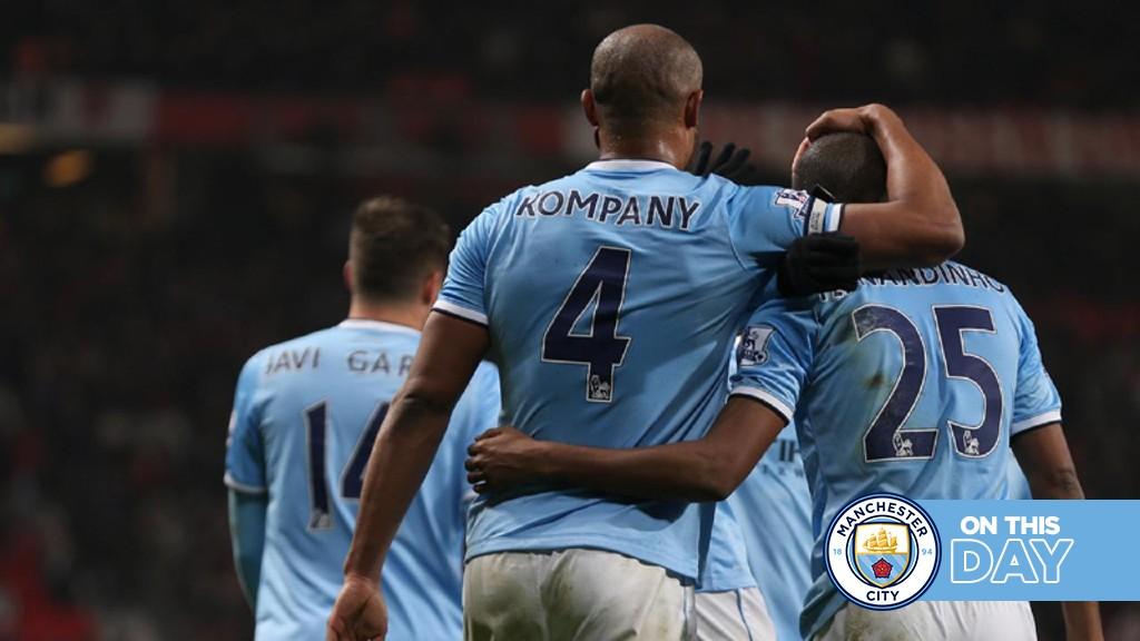 Classic Highlights: Dzeko double helps City sink United!