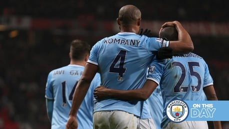 Classic Highlights: Dzeko double helps City sink United!