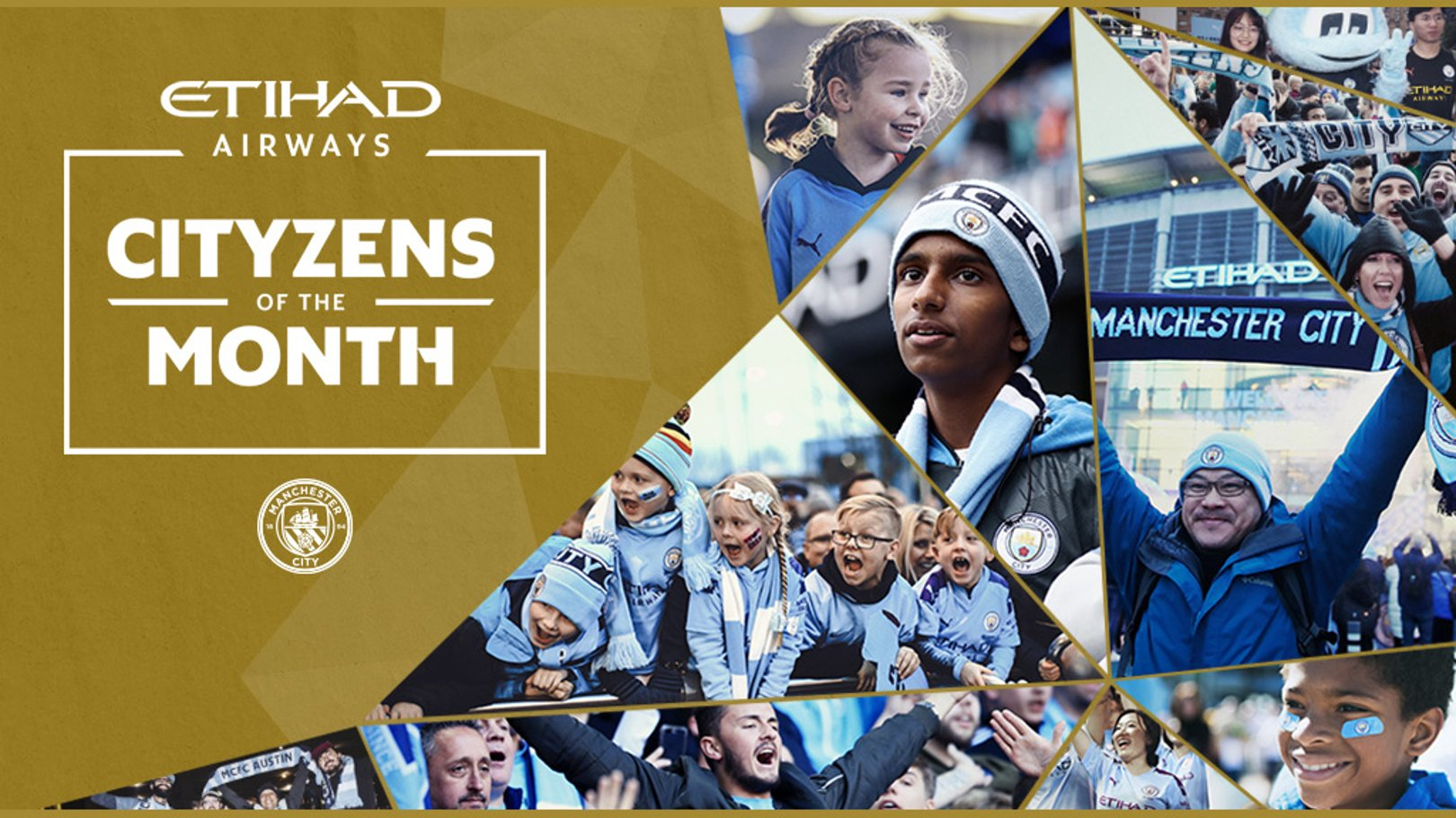 Etihad Cityzens of the Month campaign launches