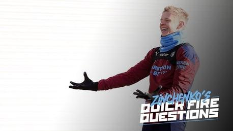 QUICKFIRE QUESTION | 올렉산드르 진첸코