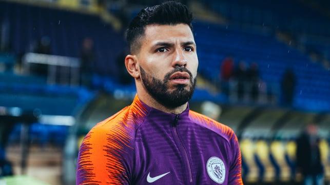 TARGET MAN : Will Sergio Aguero bag another milestone goal?