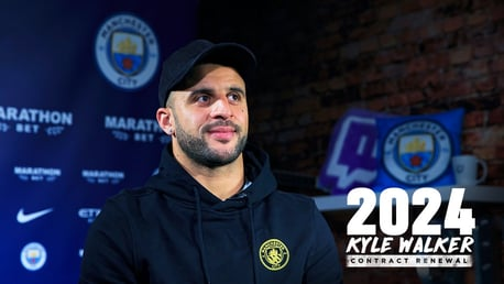 INTERVIEW: Kyle Walker speaks to CityTV about his contract extension.