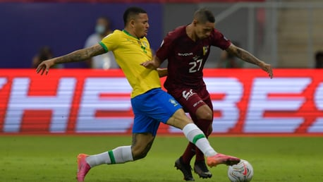 Jesus helps Brazil start Copa America defence with victory