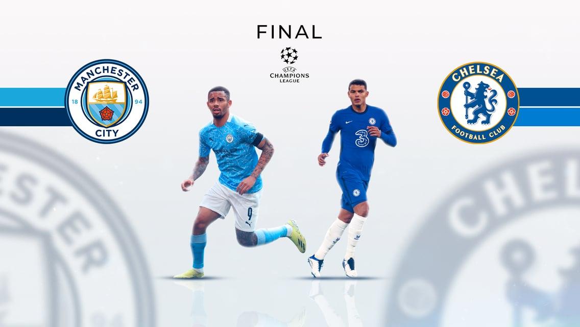 City enfrenta o Chelsea na final da Liga dos Campeões