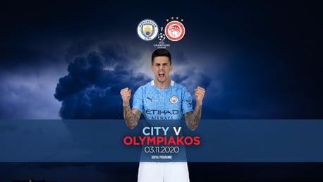City v Olympiakos: FREE Digital programme