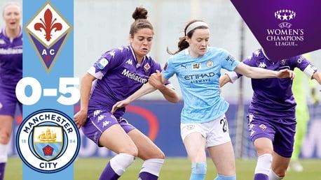 Fiorentina 0-5 City: Highlights