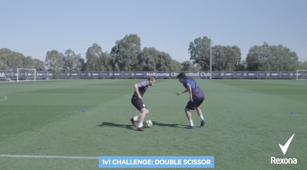 1v1 challenge 3: The double scissor