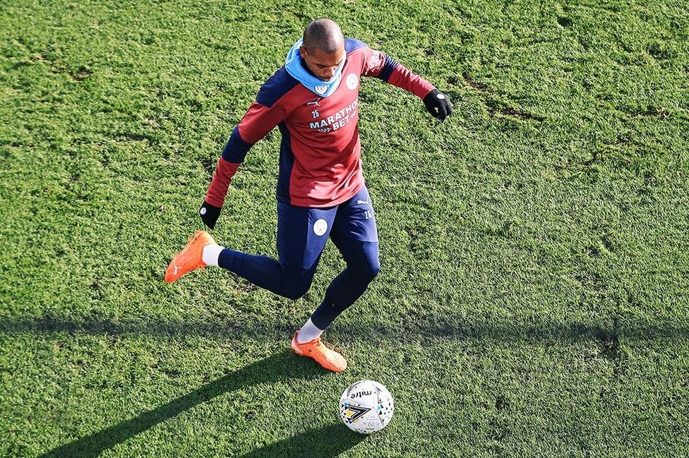 MORE BRAZILIAN MAGIC : Fernandinho, fresh from his superb Carabao Cup semi-final strike against United!