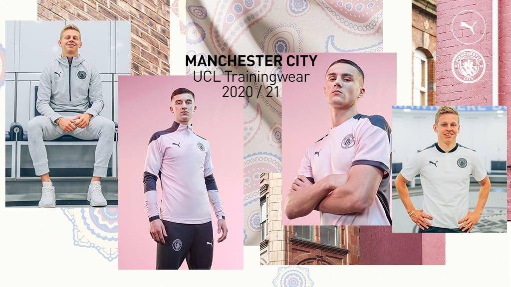 PUMA release new UCL Trainingwear