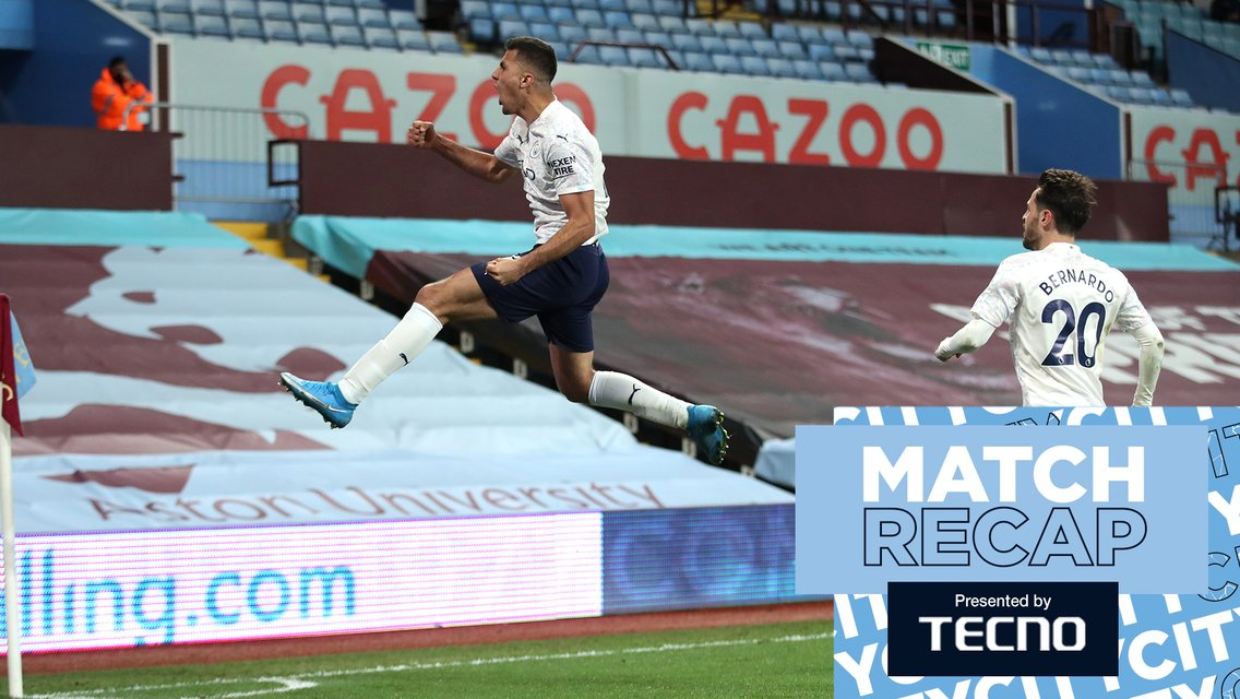 Match Recap: Villa 1-2 City
