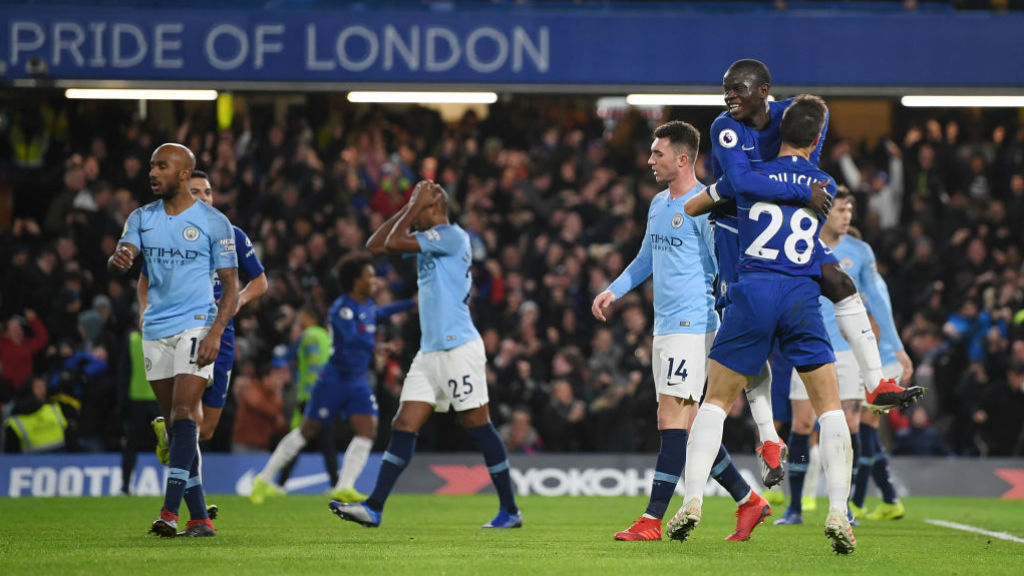 CAPITAL PUNISHMENT : Kante puts Chelsea ahead against the rum of the play
