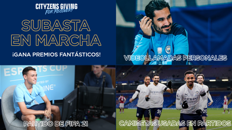 Ya en marcha la subasta de Cityzens Giving for Recovery