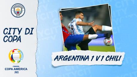 Aguero Turun Sebagai pengganti saat Argentina Ditahan Imbang di Laga Copa America