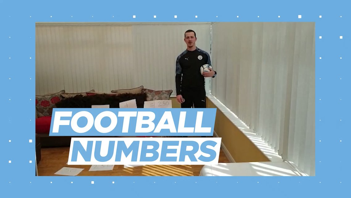 Learning through football: Football numbers