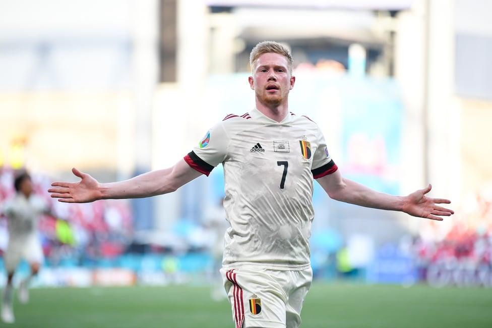 KDBRILLIANT! : Kevin De Bruyne was at his dazzling best, grabbing a goal and assist against Denmark!