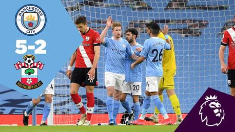 City 5-2 Southampton: Full-match replay