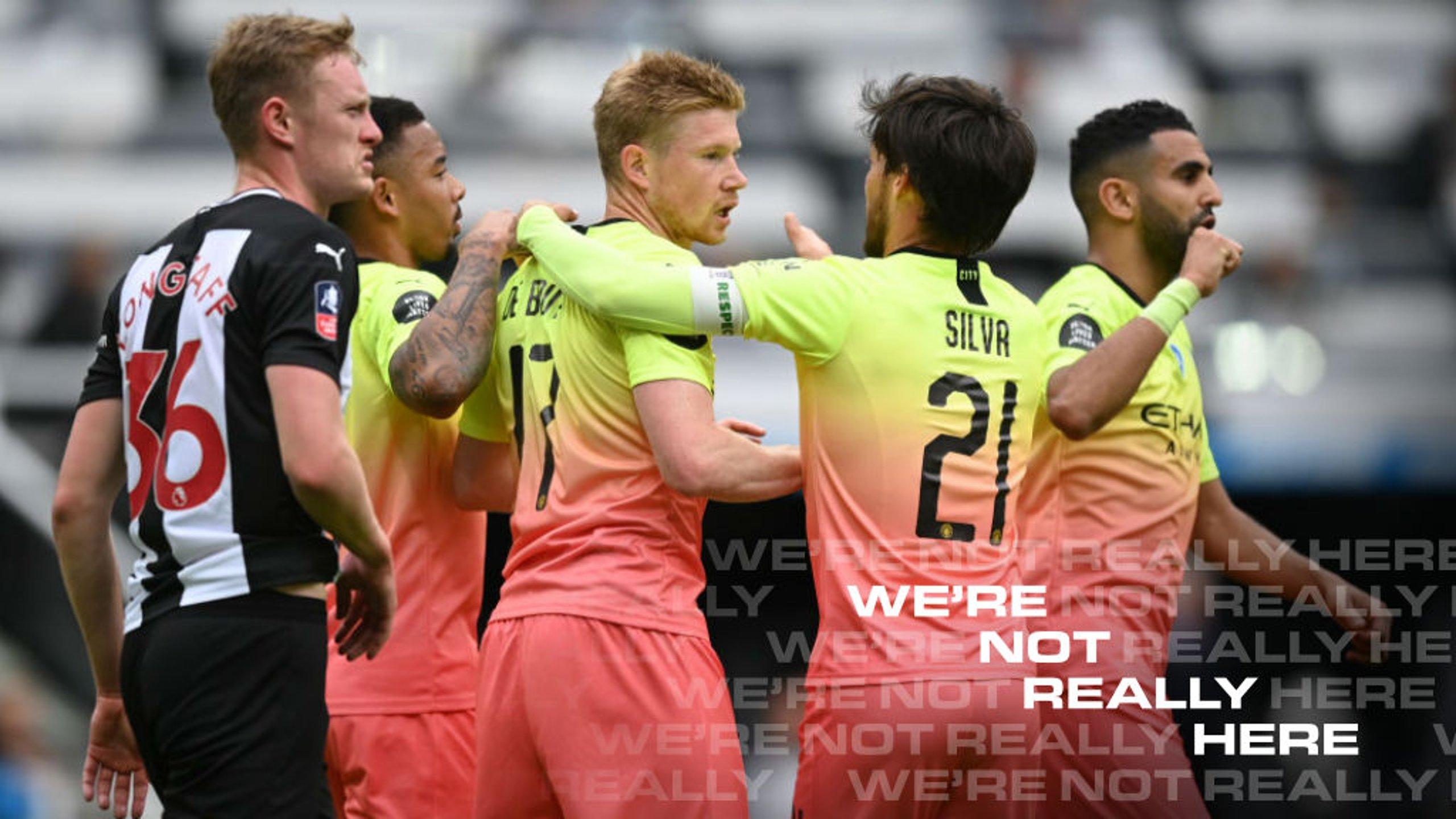 매치리포트 | FA컵 8강전 뉴캐슬 vs CITY