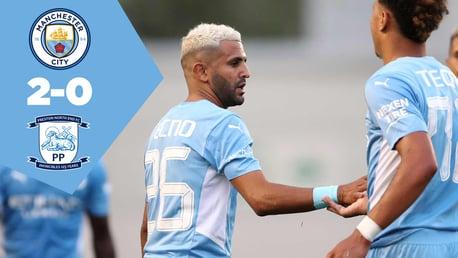 City 2-0 Preston: Full-match replay