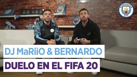 DjMaRiiO y Bernardo: duelo en el FIFA
