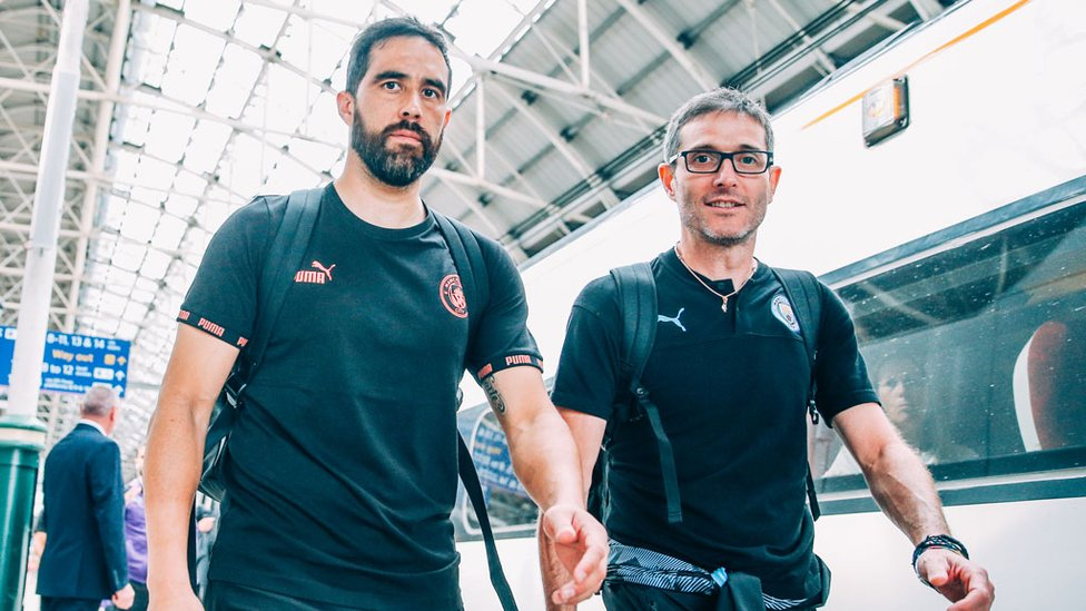 BACK IN BUSINESS : Claudio Bravo is fit again and raring to go!