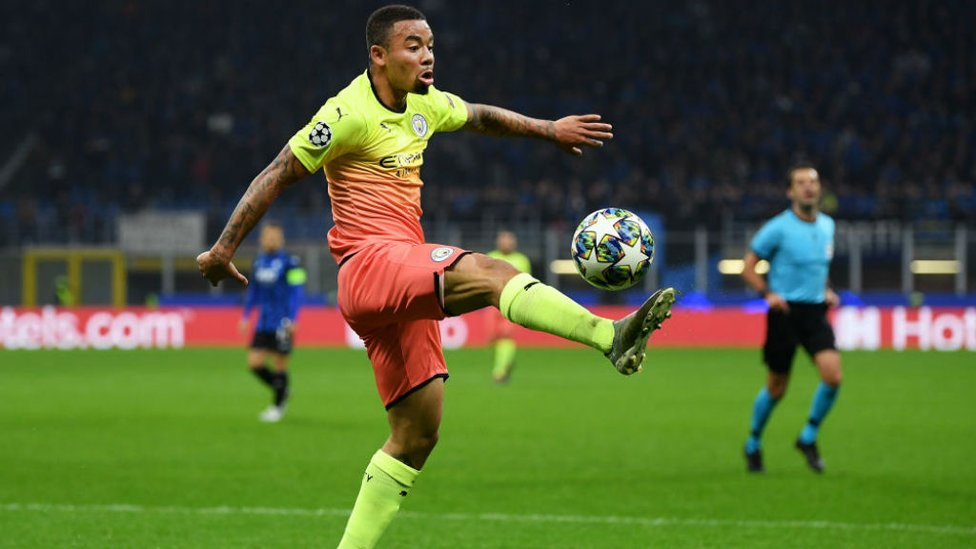 BEST FOOT FORWARD : Gabriel Jesus looks to get City on the front foot once again