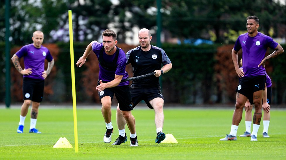 AYMERIC LAPORTE : Sprint sessions are hard work