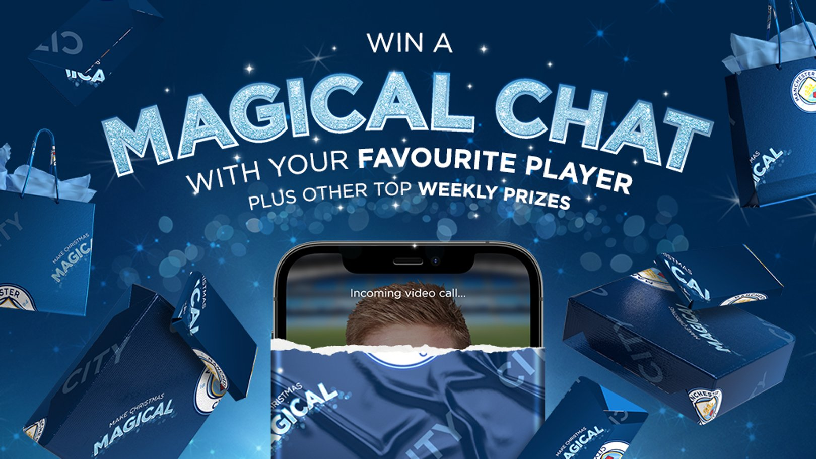 Cityzens: Win a video call with your favourite City player!