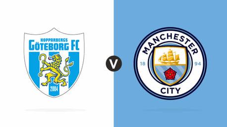 Göteborg FC 1-2 City: Reaction and stats