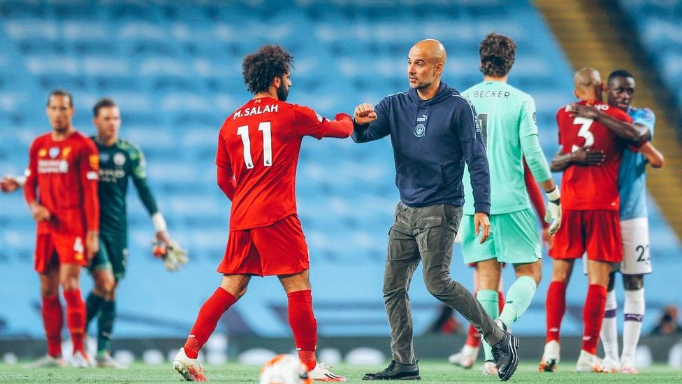 PEMBUKTIAN : City mengalahkan juara Liga Inggris yang baru dinobatkan, Liverpool, di Etihad, dengan kemenangan 4-0 pada Juli 2020.