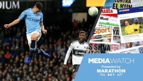 FLYING HIGH: Phil Foden