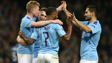 GROUP WINNERS: City have advanced into the last 16 of the UEFA Champions League.