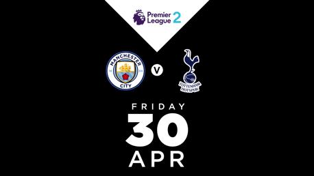 WATCH LIVE: City EDS v Tottenham Hotspur PL2