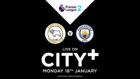 Watch EDS away at Derby on CITY+
