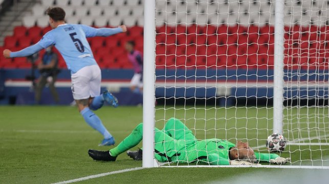 THE BEAUTIFUL GAME: A contrast of emotions after City's leveler!