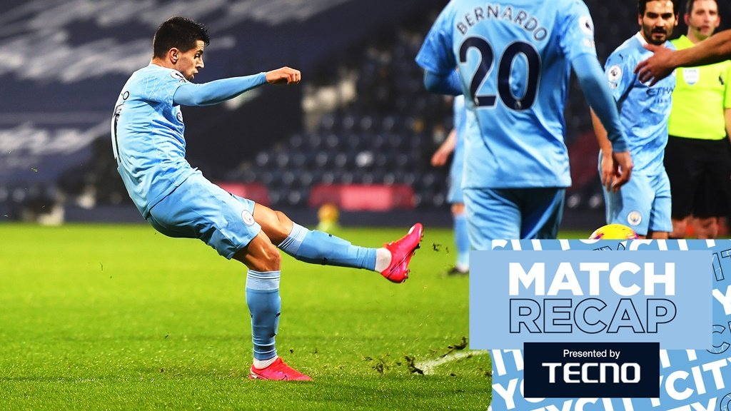 West Brom 0-5 City: Rekap Pertandingan